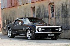 American Monsters – 1969 Chevrolet Camaro Oh Yeah! Yenko Camaro, 1968 Chevy Camaro, Corvette, Chevy Muscle Cars, Best Muscle Cars, American Muscle Cars, Pony Car, Amazing Cars, Awesome