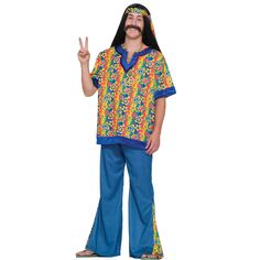 Far Out Hippie Man Costume