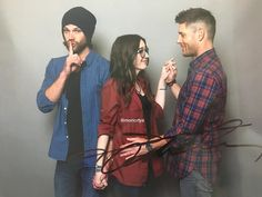 Jared & Jensen photo op x]