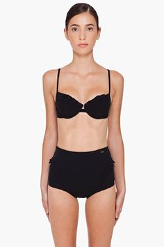 Chloe Black High Waist Swimsuit for women | SSENSE