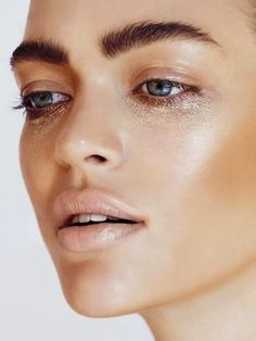 "Under eye circles be gone! Just add Kevyn Aucoin Loose Shimmer Shadow in ""Citrine"" ($29.00) from crcmakeup.com."