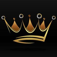 Find Gold Abstract Crown Graphic Design Logo stock images in HD and millions of other royalty-free stock photos, illustrations and vectors in the Shutterstock collection. Banner Background Images, Logo Background, Lettering Design, Logo Design, Graphic Design, Crown Drawing, Crown Art, Crown Tattoo Men, Crown Logo