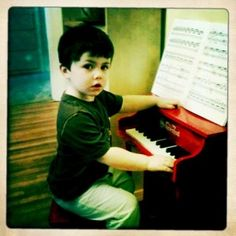 My first piano teacher.
