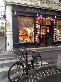 Mai 2014 : 5 ans du concept store Home Autour du Monde - Bensimon / Lyon - ©adesignblOcnote