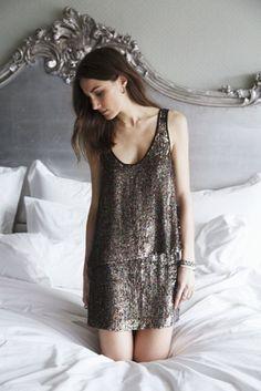Erin Kleinberg sequined dress