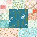 Brambleberry Ridge Fat Quarter Bundle in Coral