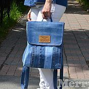 Old Jeans, Jeans Pants, Jean Backpack, Handmade Bags, Messenger Bag, Upcycle, Recycling, Satchel, Backpacks