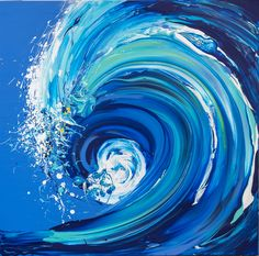 Buy Wave Series - Starting To Break, Mixed-media painting by Annette Spinks on Artfinder. Discover thousands of other original paintings, prints, sculptures and photography from independent artists. Ocean Wave Painting, Wave Art, Ocean Wallpaper, Art Folder, Paintings For Sale, Wave Paintings, Mermaid Paintings, Acrylic Paintings, Original Paintings