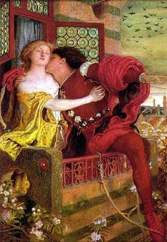 Romeo and Juliet - Ford Madox Brown Pre-Raphaelitism