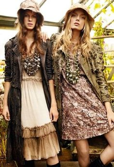 The rosy dress on the right looks beautiful. I wouldn't mind wearing one like that...