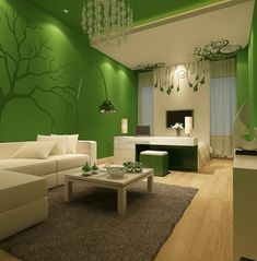 Tolle Wohnzimmer Ideen Living Room Green, Living Room Paint, Living Room  Colors, Living