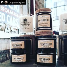 #Repost @propsantiques  So happy to announce that we are offering @southernfireflycandle company at #propsantiques in @thefactoryatfranklin  So many amazing smells yum!  Made in Tennessee.  Our favorite right now is #tennessee and #nashville Stop by and smell some!