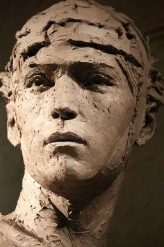 Christophe Charbonnel, 1967 | Escultura con arcilla
