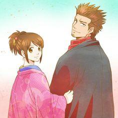 Gintama ~Kondo and Otae