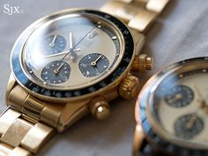 """Hands-On with Notable Rolex Watches at Phillips' Geneva Watch Auction"" via @watchville"