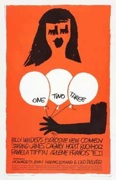 Movie poster by Saul Bass