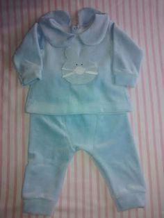Conjunto plush recién nacido www.bebuchybebe.com.ar