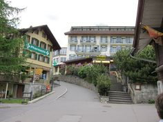 Wengen, Switzerland.  The most beautiful mountain village. My aunt Lilian works at this Pharmacy. The Schonegg restaurant has best view for dining while viewing the Jungfrau!