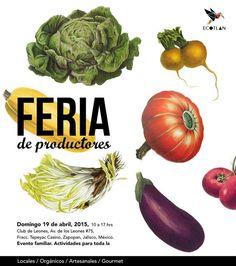 Feria productores en #Guadalajara, 19 de abril 2015