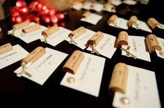wine cork projects | Wedding, Reception, Card, Escort, Wine, Cork - Project Wedding