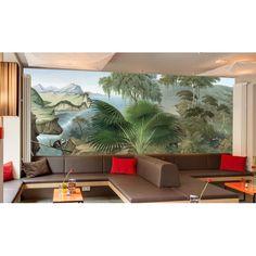 papier peint vintage asiatique calligraphie chinoise papier peint d 39 artiste pinterest vintage. Black Bedroom Furniture Sets. Home Design Ideas
