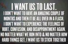 I've felt this way since July.