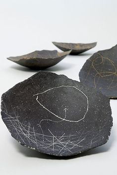 Takayama Dai  (i used to love drawing on rocks, with other rocks)