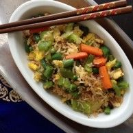 Fried Rice is quick, yummy and #healthy! Try ours!