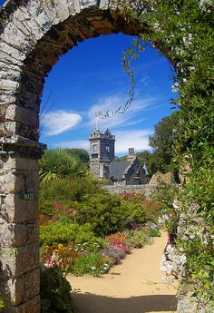 Seigneurie Gardens, Isle of Sark by Andrew in Yorkshire on... - Things She Loves