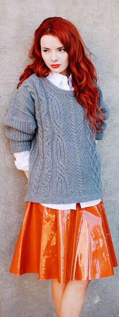 Pumpkin & Grey | Sea Of Shoes by Sea Of Shoes