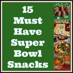 Top 15 Super Bowl Snacks