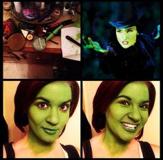 Elphaba makeup by Taylor Carlson #Halloween #SephoraSelfie