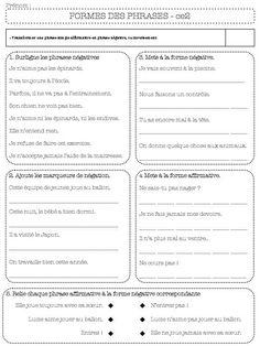 La phrase interrogative | j'aime le francais