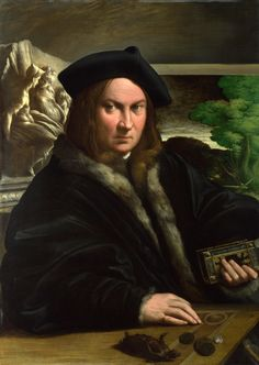 https://flic.kr/p/qY1A2o | Portrait of a Collector | about 1523. Oil on wood. 89,5 x 63,8 cm. National Gallery, London. 441.