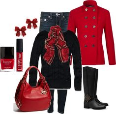 Christmas - Polyvore...love, but it would burn me up.