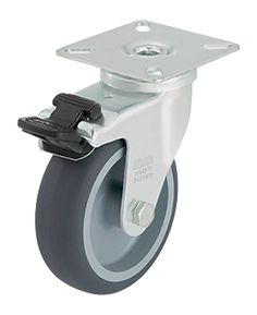 Pyörät on helppo kiinnittää Saaristo-kirstun pohjaan, jolloin kirstua on helppo liikutella. Pyörät saa lukittua.