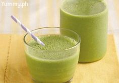 The secret to have more greens in your diet: blend them into a smoothie that tastes like a fruit smoothie or milkshake.