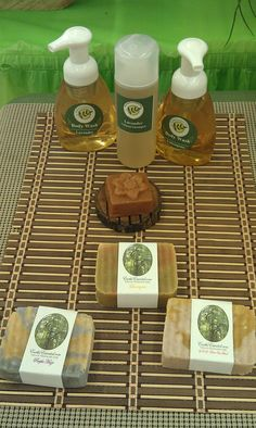 Natural soap, shampoo and body wash. www.EarthsEssential.com