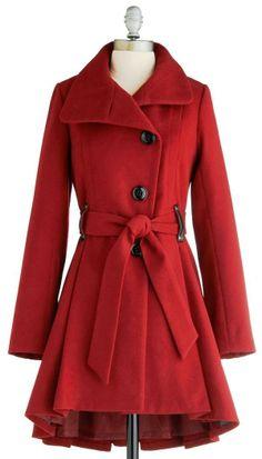 Steve madden winter berry tart coat fashion