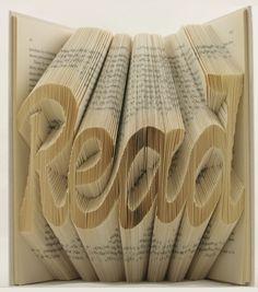 Num mundo de kindles e afins, o livro está virando um artigo do passado. Isaac Salazar, ao dobrar e recortar exemplares antigos que ninguém quer mais, contribui para que o livro, ao se reinventar como obra de arte, não suma por completo. http://obviousmag.org/drinking_wine_and_killing_time/2015/a-arte-de-dobrar-papel.html