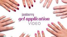 Jamberry TruShine Gel Application Video; visit my website: robinmccray.jamberry.com