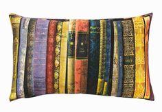 Books cushion cover from HandM UK