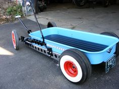 red wagon hot rod radio flyer | radio flyer