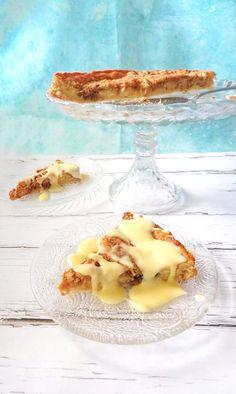 Kutyulós almás - Cake by fari Ricotta, Camembert Cheese, Panna Cotta, Cake, Ethnic Recipes, Food, Dulce De Leche, Kuchen, Essen
