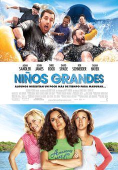 Niños grandes el póster oficial de la película :)