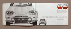 just loving this old Citroen brochure