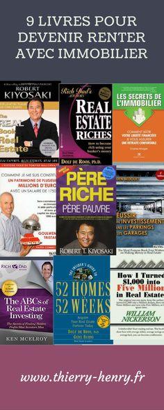 Ce n'est pas avec un livre que vous allez devenir investisseur immobilier. Cependant, avoir quelques connaissances et éviter les erreurs qu'on fait certains investisseurs avant vous n'a pas de prix. Il faut apprendre (se former) avant de gagner de l'argent. #rentier #immobilier #livres #investisseur