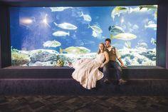 Natural Wedding at South Carolina Aquarium - Charleston, SC | Borrowed & Blue