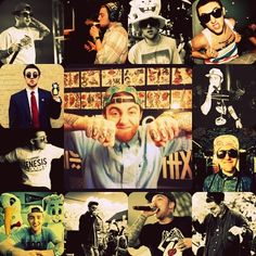 Mac Miller....I think it might be just the tattoos lol