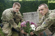 Halton Recruits remember RAF Olympic Athlete